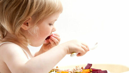 3-Year-Old Still Eating Baby Food