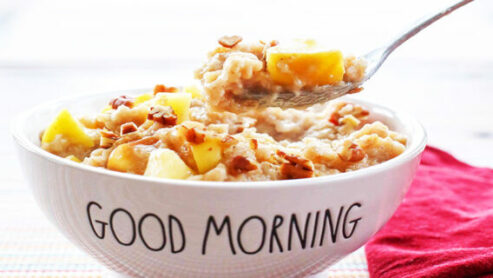 Apple Oatmeal Cereal:
