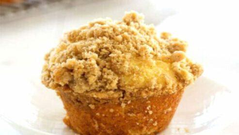 Cinnamon Streusel Muffins: