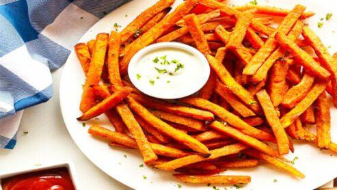 Do sweet potato fries' fast food 2021