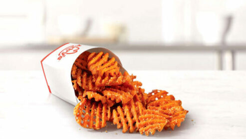 Does any fast food serve sweet potato fries?