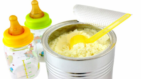 Mixing Baby Food With Formula In Bottle