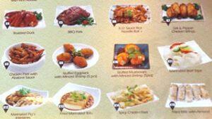 4 Seasons Chinese Food Menu