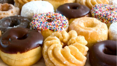 Can you eat donuts in the morning?
