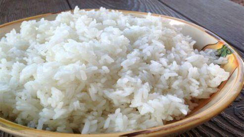 Chinese white rice calories