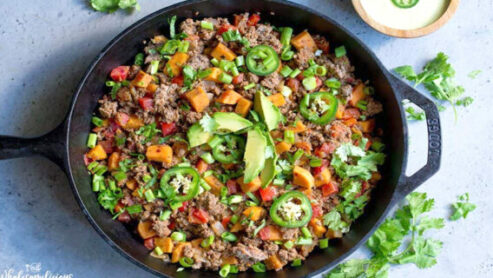 Dairy Free Beef with Vegetables: