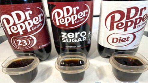Dr. Pepper Nutrition: