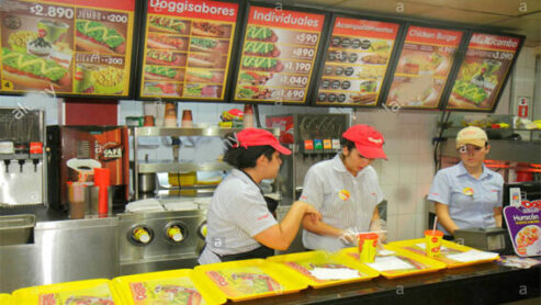 Fast Food Restaurants In Chile