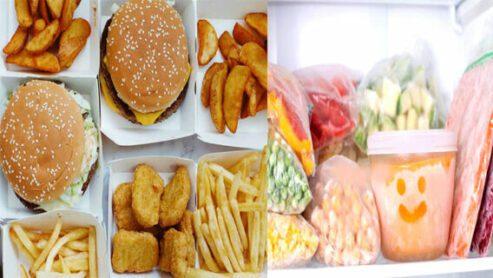 Fast Food Vs Frozen Food