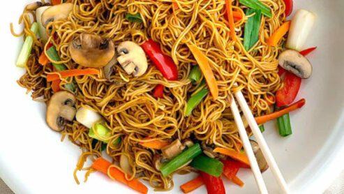 Lo Mein (Noodles):