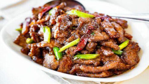 Mongolian Beef:
