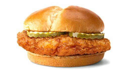 Spicy Crispy Chicken Sandwich