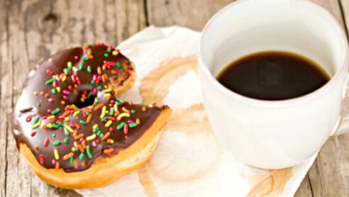 What is too much doughnut for breakfast?