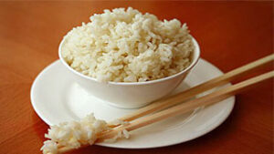 White Rice For Chinese Food