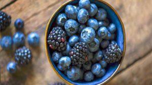 Blue Healthy Foods