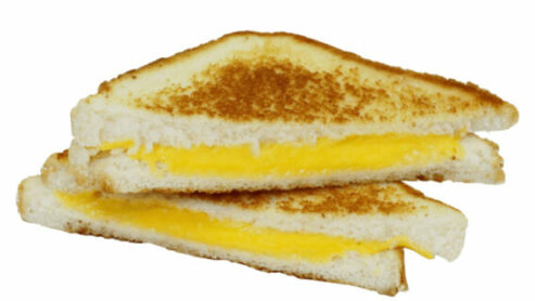 Grilled Cheese Sandwich Fast Food