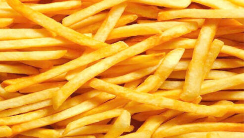 sweet potato fries at fast food restaurants